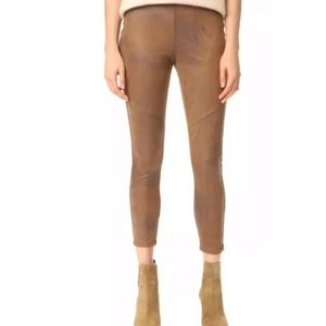 Free People Never Let Go faux leather leggings